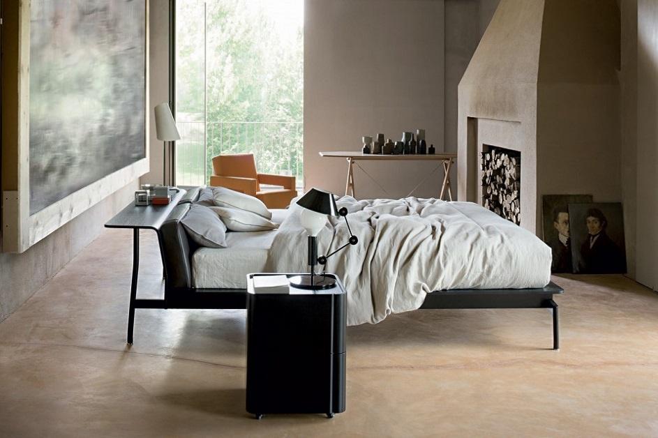 Come arredare casa la casa di vacanza in stile moderno con Cassina-camera-da-letto-AD-Dal-Pozzo.jpg